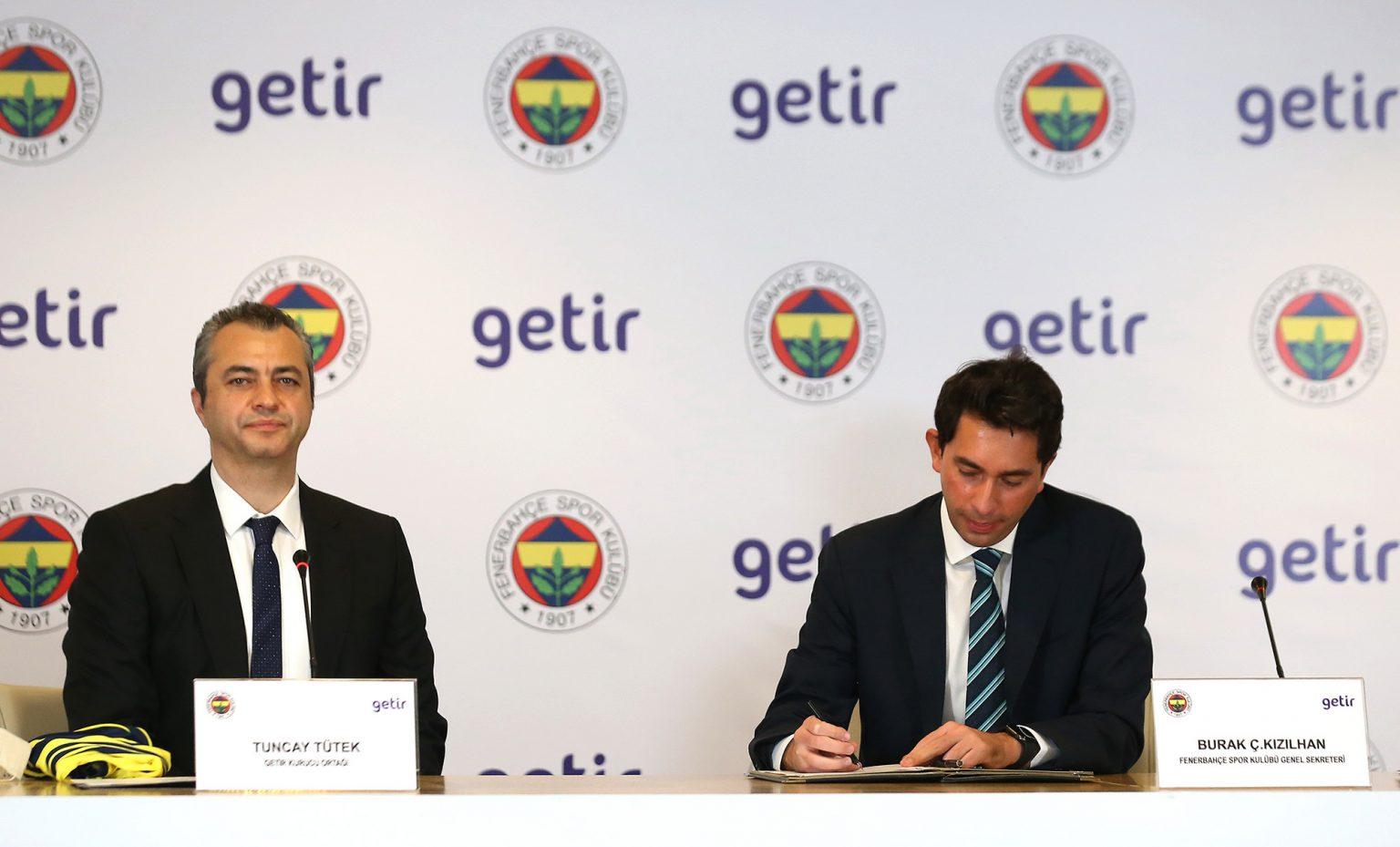 Fenerbahçe'nin Yeni Sponsoru GETİR