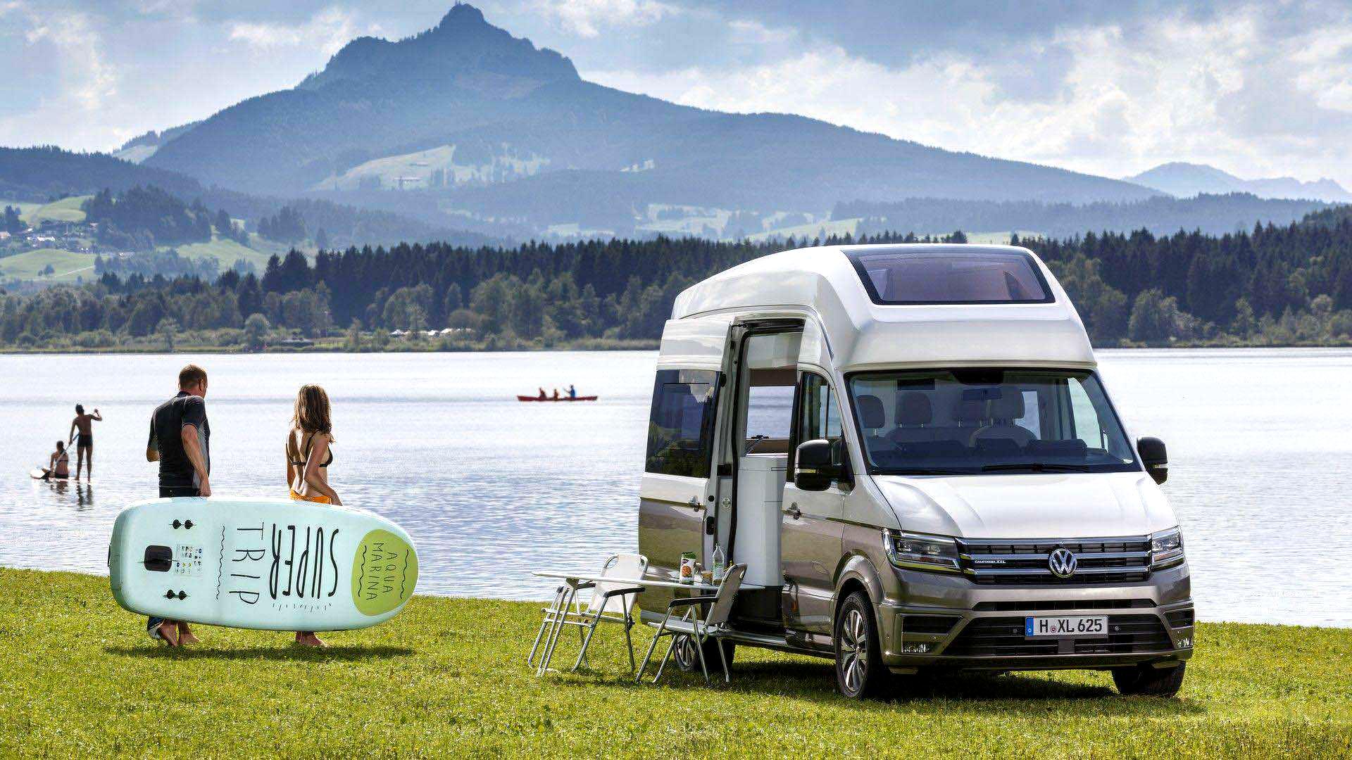 VW Grand California'da Rahat Yaşama Dair Her Şey Var!